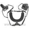 OPTech USA Dual Harness X-Long neoprén dupla fényképezőgép-hám, extra hosszú,fekete