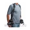 OPTech USA Double Sling neoprén dupla fényképezőgép vállszíj, fekete