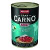 Animonda GranCarno Adult konzerv, lazac és spenót 6 x 400 g