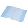 PANTA PLAST Füzetborító, A5, 80 mikron, kék (10 darab)