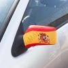 Spanyol zászló mintájú visszapillantó tükörborító (2 darab)