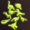 Sötétben Világító Dinoszauruszok