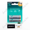 Sony Ni-MH AA 2700 mA 1,2V Újratölthető Akkumulátor (2 db)