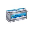 Varta Silver Dynamic AGM 12V 105Ah jobb+ autó akkumulátor akku