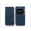 Haffner Sony Xperia Z5 S-View Flexi oldalra nyíló flipes tok - kék