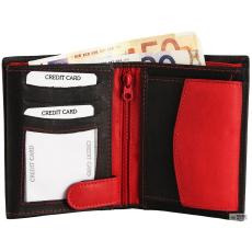 Excellanc férfi pénztárca Rindbőr. Format 9 x 12 cm.