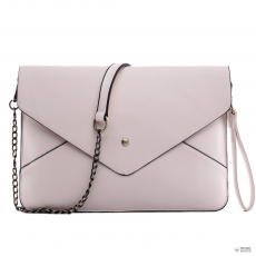 L1507 - Miss Lulu London Envelope Táska Clutch táska Apricot
