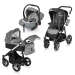 Baby Design Husky 3:1 multifunkciós babakocsi + winter pack - Black