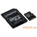 Kingston 64GB Micro SDXC CL10 UHS-I adapterrel