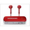 Samsung gyári Bluetooth audio adapter receiver/transmitter (adó/vevő) v3.0 - EO-RG920BREG + 3,5 mm jack fülhallgató - red