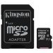 Kingston Card MICRO SDXC Kingston 128GB 1 Adapter UHS-I CL10 G2