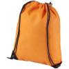 Evergreen nemszőtt hátizsák-tornazsák, narancs (Evergreen nemszőtt hátizsák-tornazsák, húzózsinórral)