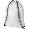 CENTRIX Oriole tornazsák, hátizsák, fehér (PREMIUM tornazsák, húzózsinórral zárható nagy fő rekesszel. A)