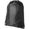 CENTRIX Oriole tornazsák, hátizsák, fekete (PREMIUM tornazsák, húzózsinórral zárható nagy fő rekesszel. A)
