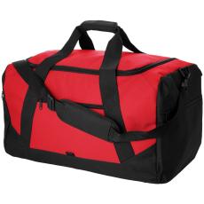 CENTRIX Columbia utazótáska, piros (Sporthoz is megfelelő utazótáska, cipzáros fő tároló rekesszel és 2)