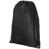 CENTRIX Condor hátizsák-tornazsák, fekete (Speciális anyagkombináció miatt ez az egyszerű táska egyedi és)