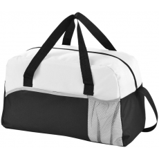 The Energy táska, fekete/fehér (Táska cipzáros fő résszel és tépőzáras első zsebbel, hálós zsebbel,)