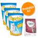 Tigerino Próbacsomag: 3 x 5 l Tigerino alom + 400 g Concept for Life - Tigerino + British Shorthair Adult