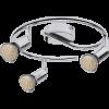 RÁBALUX 6989 Norton, LED szpot lámpa, GU10 3x MAX 50W, króm