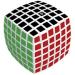 V-Cube Lekerekített szélű, 6x6-osversenykocka, fehér színben