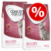 Concept for Life 2 x nagytasakos Concept for Life - gazdaságos csomag - Outdoor Cats (2 x 3 kg)