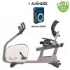 Tunturi Pure Bike R4.1 háttámlás ergométer + Ajándék MP3 lejátszó