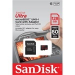 Sandisk Micro SDXC 128GB Mobile Ultra 80MB/s Class 10 UHS-1 + adapter