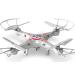 Távirányítós RC helikopter, drón, quadrokopter 4 csatornás, gyróval + kamera