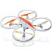 Távirányítós RC helikopter, drón, quadrokopter 6 csatornás, gyróval 42 cm-es (kamera opció)