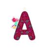 LILLIPUTIENS A betű - textil