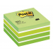 3M-POST-IT Self-adhesive Cube POST-IT® (2028-G) 76x76mm 1x450 sheets green 4001895872808