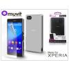 Made for Xperia MUVIT Sony Xperia Z5 Compact (E5803) hátlap edzett üveg képernyővédő fóliával - Made for Xperia Muvit Clear Back - clear