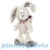 Happy Box Plüss Snow rabbit Linni lógólábú 25cm krém
