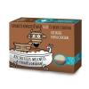 Kecsketej szappan dupla csokival. Tápláló és kényeztető hatás, fehér és fekete csokival.