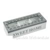 Teásdoboz Sweet Home 3 fakkos 24x9cm