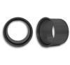 Dexx Füstcsõ fali hüvely 130 mm átmérõ hűtés, fűtés szerelvény