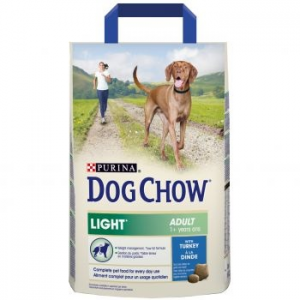 Dog Chow Light kutyaeledel, Pulykahús, 3 kg (12124844)