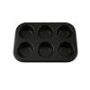 Perfect home Muffinsütő forma 6 db-os (ol_28176)
