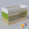 TODI Kaméleon-juhar – átalakítható ágy