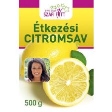 Szafi Fitt Szafi fitt étkezési citromsav 500g reform élelmiszer
