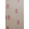 Rózsaszín virágos tapéta