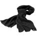 ELEVATE Redwood fleece sál, fekete (Redwood fleece sál, mindkét oldala fésült, bolyhosodásmentes. Szegett)