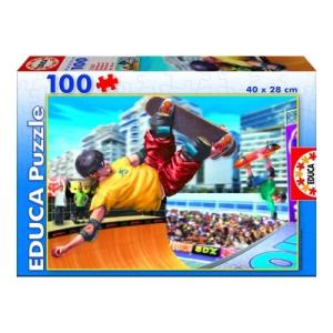 Educa Gördeszkázás puzzle, 100 darabos