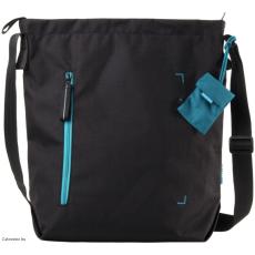CRUMPLER - Doozie Shoulder M black / turquoise