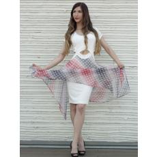 Meringue fashion AKCIÓ muszlin pöttyös nõi ruha