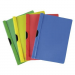 PANTA PLAST FOCUS DOCUMENT FOLDER: A4/PP WITH A SIDE CLIP OMEGA RED 5902156013017