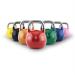 Capital Sports Compket Set, verseny kettlebell, 7 x verseny gömbsúlyzó, acél