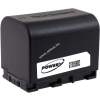 Powery Utángyártott akku videokamera JVC GZ-HM330AC 3,6V 2670mAh Li-Ion fekete (info chip-es)
