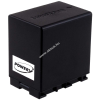 Powery Utángyártott akku videokamera JVC GZ-HM450-S 4450mAh (info chip-es)