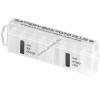 Powery Ansmann akkutartó, elemtartó doboz max. 8db AA/AAA/CR123A elem SM/CF kártya tárolására - bővíthető ceruzaelem